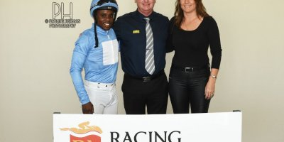 R7 Candice Bass Robinson Sandile Mbhele Sailing Ship Breeders Guineas feature-Fairview Racecourse-6 MAR 2020-1-PHP_7456
