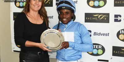 R7 Candice Bass Robinson Sandile Mbhele Sailing Ship Breeders Guineas feature-Fairview Racecourse-6 MAR 2020-1-PHP_7458