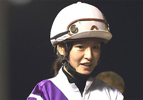 Female rider making history