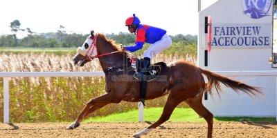 R1 Sharon Kotzen Louie Mxothwa Princess Blitz- 17 May 2019-Fairview Racecourse-PHP_9906