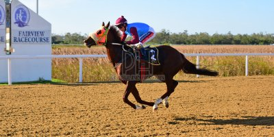 R5 Jacques Strydom Greg Cheyne Onesie- 17 May 2019-Fairview Racecourse-PHP_0128