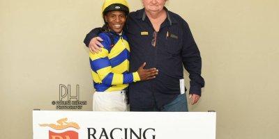 R3 Duncan McKenzie Louie Mxothwa Escape To Vegas- 26 July 2019-Fairview Racecourse-1-PHP_1777